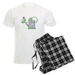 Butteryfly & Watering Can Men's Light Pajamas