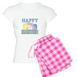 Cute Happy Easter Design Women's Light Pajamas