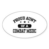 Proud Combat Medic Aunt Decal