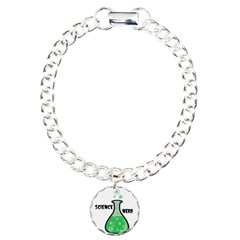 Science Nerd Charm Bracelet, One Charm