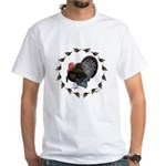 Turkey Circle White T-Shirt