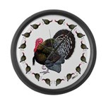 Turkey Circle Large Wall Clock