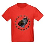 Turkey Circle Kids Dark T-Shirt