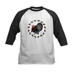 Turkey Circle Kids Baseball Jersey