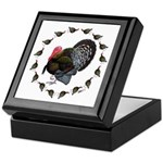 Turkey Circle Keepsake Box