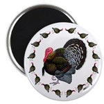 "Turkey Circle 2.25"" Magnet (10 pack)"