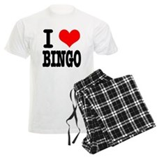 I Heart (Love) Bingo Pajamas