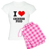 I Heart (Love) Chinese Food Pajamas
