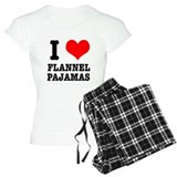 I Heart (Love) Flannel Pajama pajamas