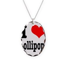 I Heart (Love) Lollipops Necklace