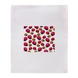 Ladybugs Throw Blanket