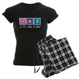 Tri Like A Girl Triathlete pajamas
