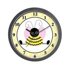 Little Bumble Bee Wall Clock