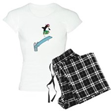 Funny Diving Penguin Pajamas