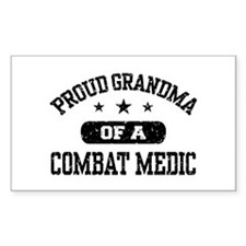 Proud Combat Medic Grandma Decal