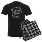 Musky hunter,3 Men's Dark Pajamas