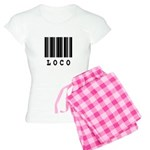 Loco Barcode Design Women's Light Pajamas