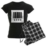 Loco Barcode Design Women's Dark Pajamas
