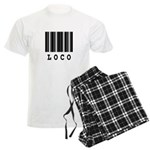 Loco Barcode Design Men's Light Pajamas