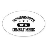 Proud Combat Medic Grandpa Decal