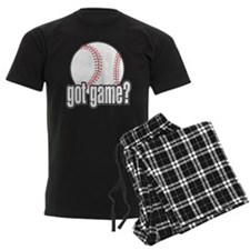 Got Game? Baseball Pajamas