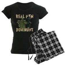 Real Men Bow Hunt Pajamas