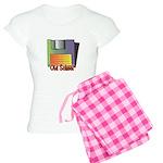 Old School Floppy Disk Women's Light Pajamas