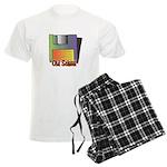 Old School Floppy Disk Men's Light Pajamas