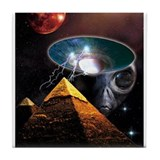 Ancient Aliens Tile Coaster