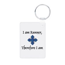 TOP I Am Runner Keychains
