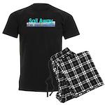 TOP Sail Away Men's Dark Pajamas