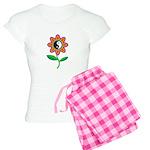 Retro Yin Yang Flower Women's Light Pajamas