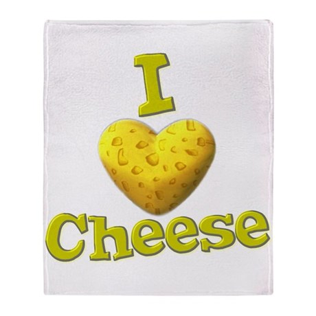 I love Cheese Stadium Blanket