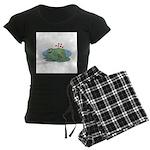 Frogs in Love Women's Dark Pajamas