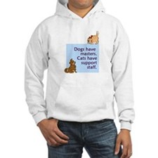 Dogs vs. Cats Hooded Sweatshirt