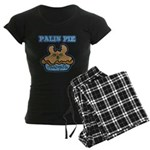 Palin Pie (Moose Berry Pie) Women's Dark Pajamas
