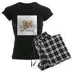 Got Cooties? Women's Dark Pajamas
