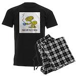 Cofee Alien Men's Dark Pajamas