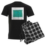 Capricorn Constellation Tapes Men's Dark Pajamas