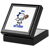 Basketball: Rhea Keepsake Box
