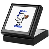 Basketball: Fern Keepsake Box
