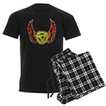 Red Winged 45 RPM Adap Men's Dark Pajamas