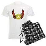 Red Winged 45 RPM Adap Men's Light Pajamas