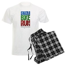 Swim, Bike, Run - Triathlon Pajamas