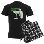 Shamrock Shake Men's Dark Pajamas