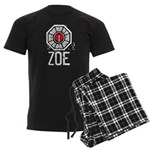 I Heart Zoe - LOST Men's Dark Pajamas
