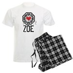 I Heart Zoe - LOST Men's Light Pajamas
