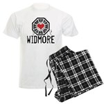 I Heart Widmore - LOST Men's Light Pajamas