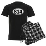 Erie, PA 814 Men's Dark Pajamas