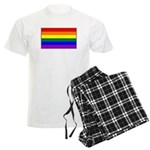 Rainbow Pride Flag Men's Light Pajamas